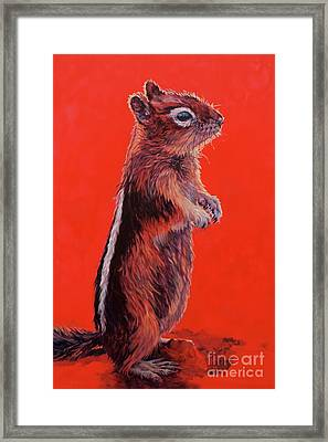 Storyteller Framed Print by Patricia A Griffin