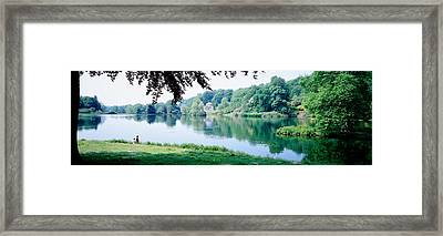 Stourhead Garden, England, United Framed Print by Panoramic Images