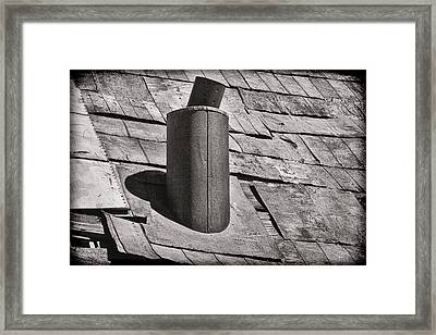 Stove Pipe Framed Print by Kelley King