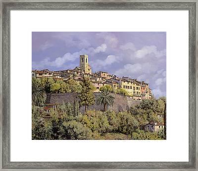 St.paul De Vence Framed Print by Guido Borelli
