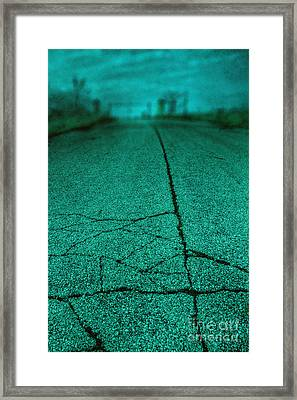Straight Framed Print by Margie Hurwich