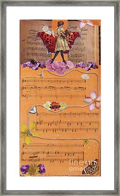 Strands Of Puccini Framed Print by Leslie Jennings