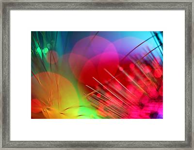Strange Days Framed Print by Dazzle Zazz