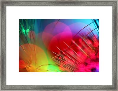 Strange Days Framed Print by Dazzle Zazz
