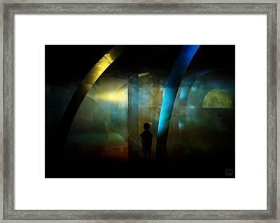 Strange Dreamland Framed Print by Gun Legler