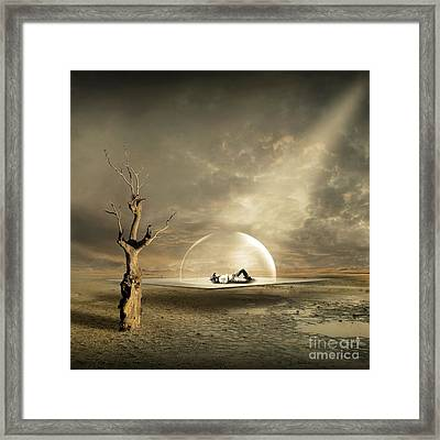 strange Dreams Framed Print by Franziskus Pfleghart