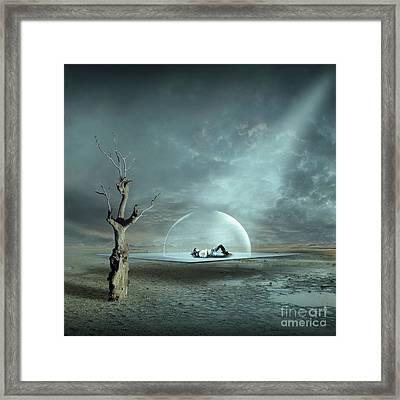 Strange Dreams II Framed Print by Franziskus Pfleghart