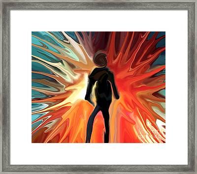 Stranger Framed Print by Chris Butler
