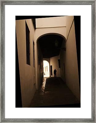 Stranger Framed Print by Jenny Rainbow