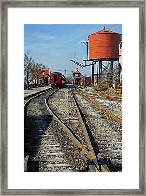 Strasburg Station Framed Print by Skip Willits