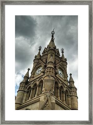 Stratford Upon Avon Clock Framed Print by Douglas Barnett