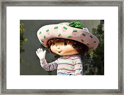 Strawberry Shortcake Framed Print by Jon Berghoff