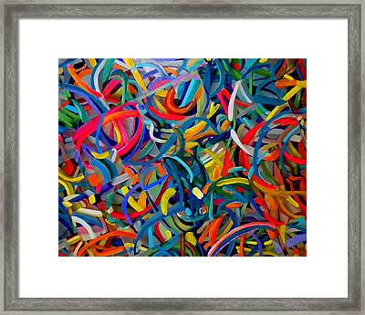 Streamers Of Joy Framed Print by Michael Durst