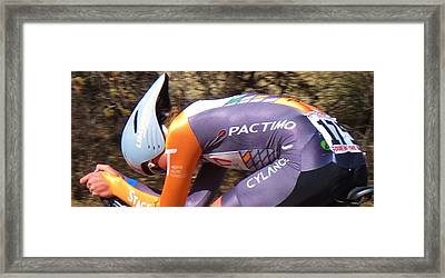 Streamlined For Speed Framed Print by Feva  Fotos