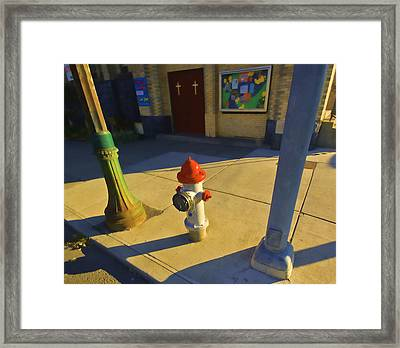 Street Art Framed Print by Dale Stillman