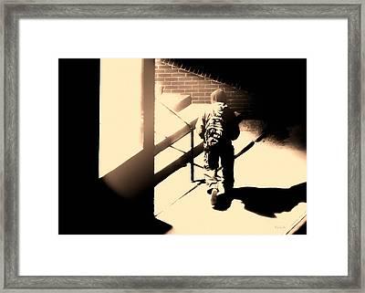 Street Artist Framed Print by Bob Orsillo