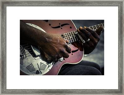 Street Blues Framed Print by Scott Campbell