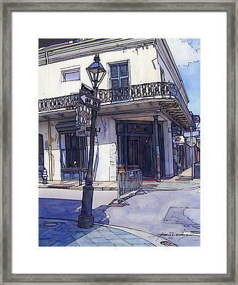 Street Corner 214 Framed Print by John Boles