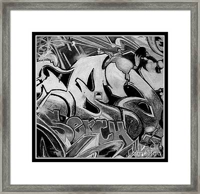 Street Expression Framed Print by Mylene Le Bouthillier