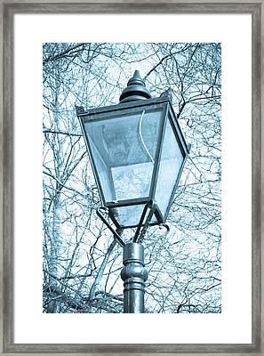 Street Lamp Framed Print by Tom Gowanlock