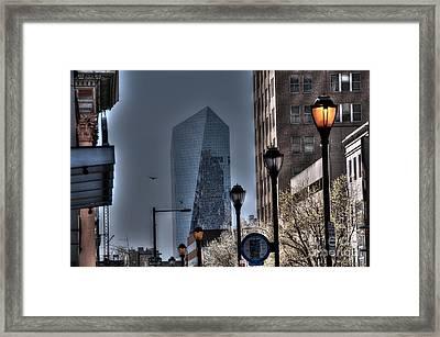 Street Lights Framed Print by Mark Ayzenberg