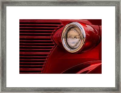 Street Rod 2 Framed Print by Jack Zulli
