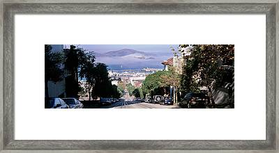 Street Scene, San Francisco Framed Print by Panoramic Images