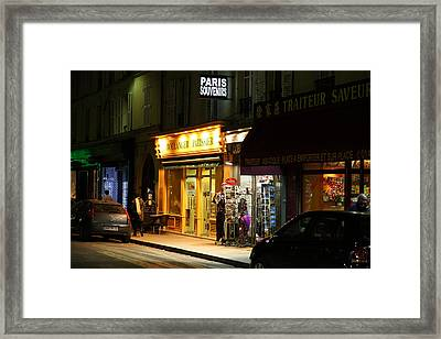 Street Scenes - Paris France - 011322 Framed Print by DC Photographer