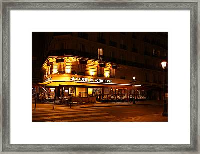 Street Scenes - Paris France - 011324 Framed Print by DC Photographer