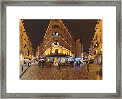 Street Scenes - Paris France - 011328 Framed Print by DC Photographer