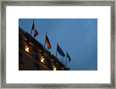 Street Scenes - Paris France - 011336 Framed Print by DC Photographer