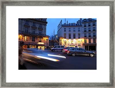 Street Scenes - Paris France - 011338 Framed Print by DC Photographer