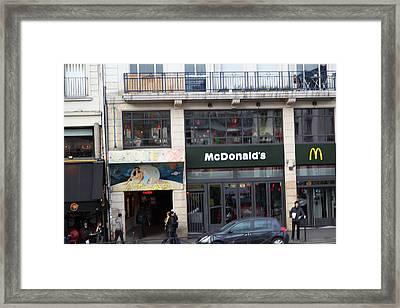 Street Scenes - Paris France - 011351 Framed Print by DC Photographer