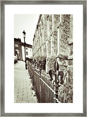Street View Framed Print by Tom Gowanlock