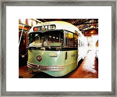 Streetcar 3165 Framed Print by Glenn McCarthy Art and Photography