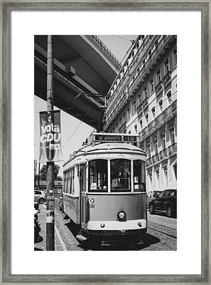 Streetcar I Framed Print by Marco Oliveira
