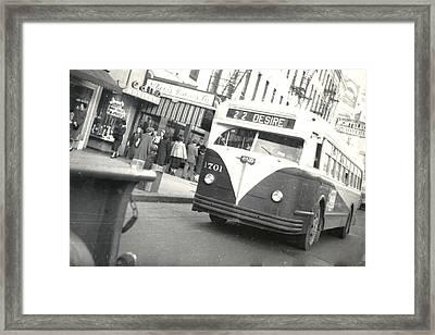 Streetcar Named Desire Framed Print by Cynthia Decker