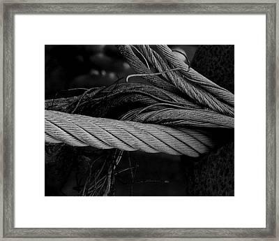 Strength Of Strings Framed Print by Odd Jeppesen