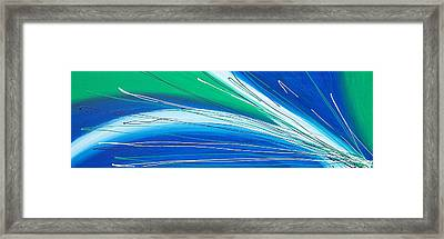 Strike Out Framed Print by Kate McTavish