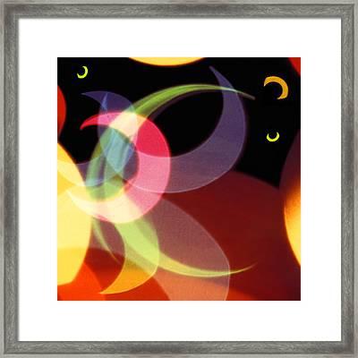 String Of Lights 1 Framed Print by Mike McGlothlen