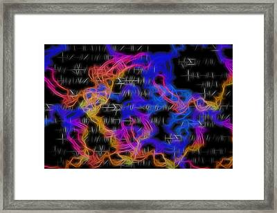 String Theory 2 Framed Print by Dan Sproul