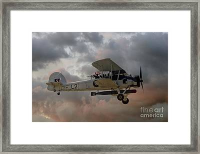 Stringbag Salute - Swordfish Torpedo Bomber Framed Print by Steve H Clark Photography