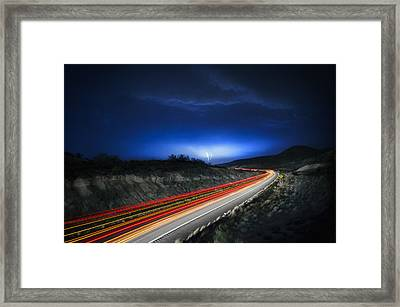 Storm Chasers Framed Print by Sean Foster