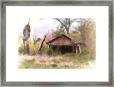 Strong Enough Framed Print by Bonnie Willis