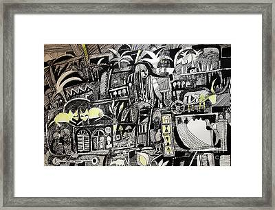 Strong Roots 2  Framed Print by Mohamed Fadul