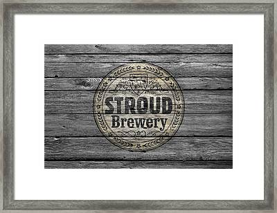 Stroud Brewing Framed Print by Joe Hamilton