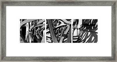Structure #3 Framed Print by Tom Gallahue