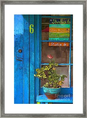 Studio 6 Framed Print by Elena Nosyreva
