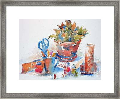 Studio Still Life Framed Print by Pat Katz