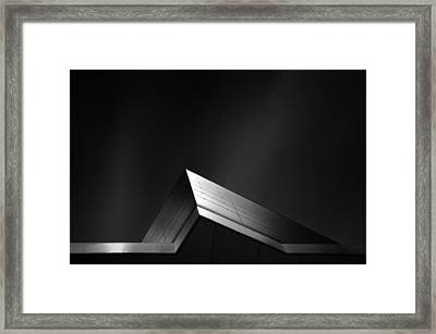 Study Of Light Framed Print by Dragos Ioneanu